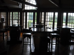 The tasting room at Chamard