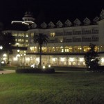 The Grand Floridian at night