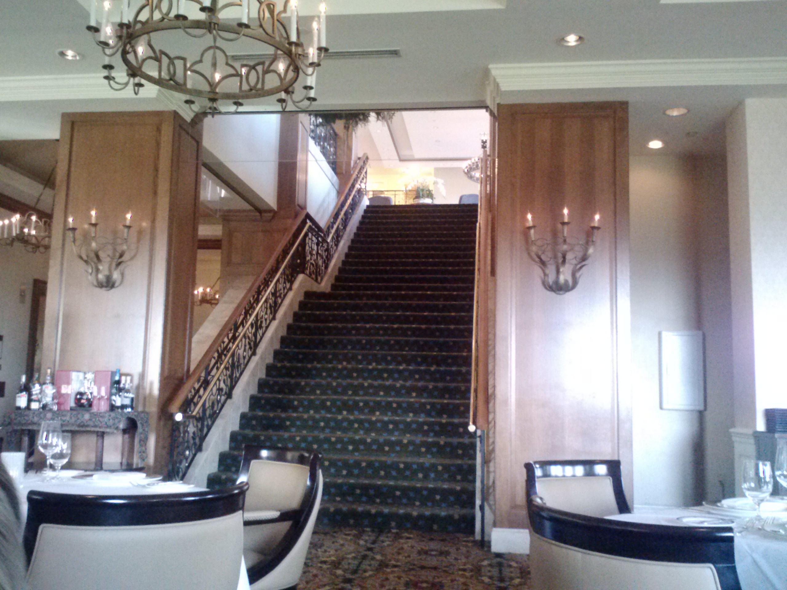 The Staircase From The Lobby