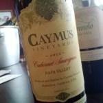 Caymus 2013 Cab