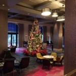 Lobby tree at the Hard Rock