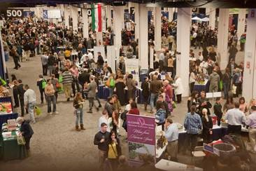 Boston Wine Expo 2016 floor