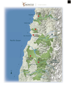 montes vineyard map