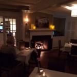 The main dining room at Chatham Wine Bar