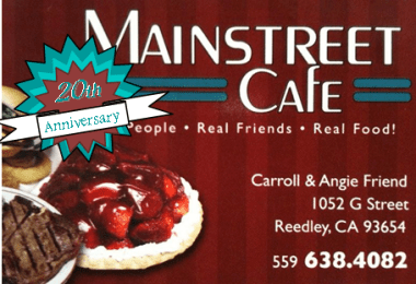 downtown mainstreet cafe