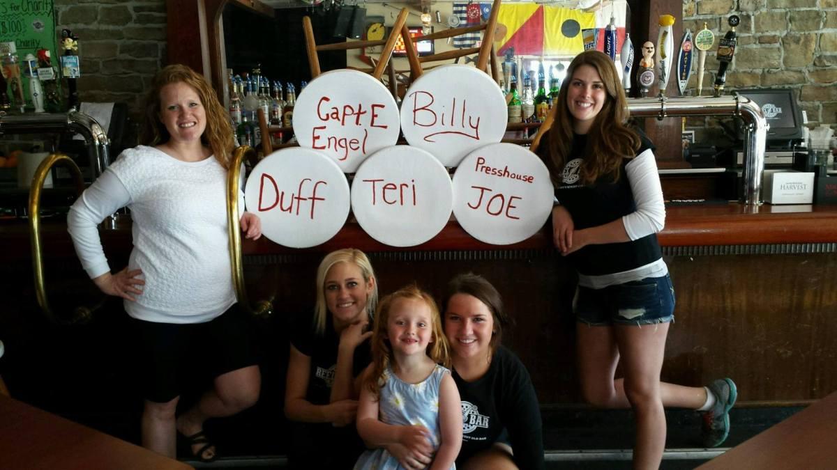 Reel Bar Put-in-Bay Bar Stool Fundraiser
