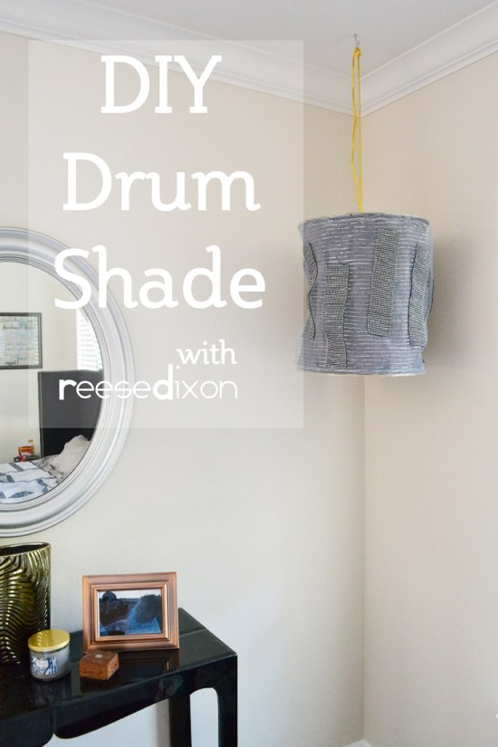 DIY Drum Shade