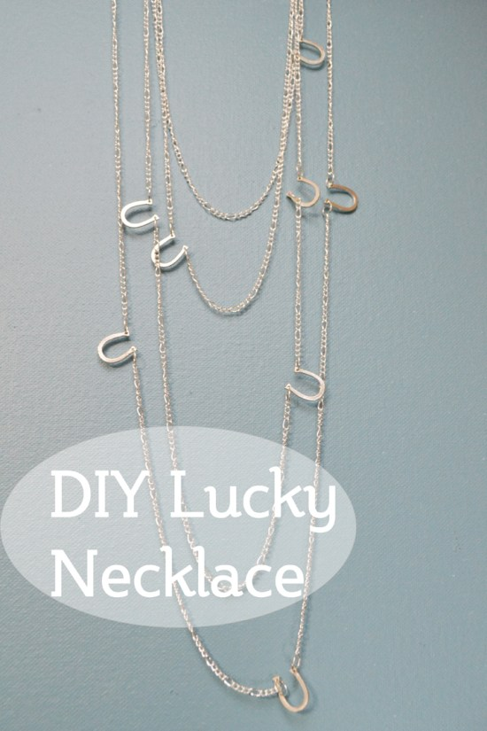 DIY Lucky Necklace