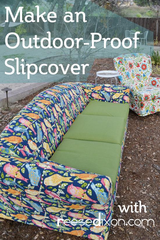 Outdoor Slipcover