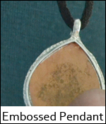 Embossed Pendant