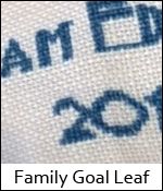 Family Goal Leaf