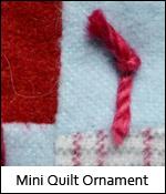 Mini Quilt Ornament