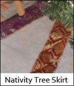 Nativity Tree Skirt