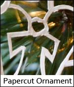Papercut Ornament