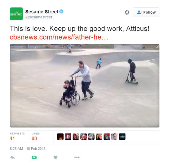 Sesame Tweet