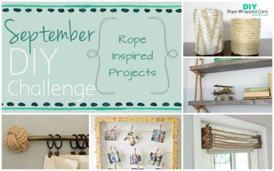 september rope diy collage