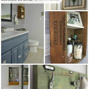 Vintage Rustic Industrial Bathroom Reveal