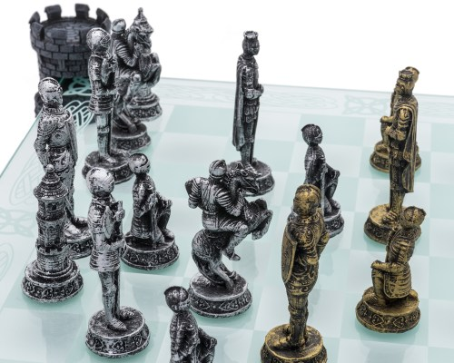 Medium Of Medieval Chess Set