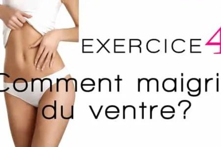 4 exercices pour maigrir et perdre du ventre muscler les abdominaux g