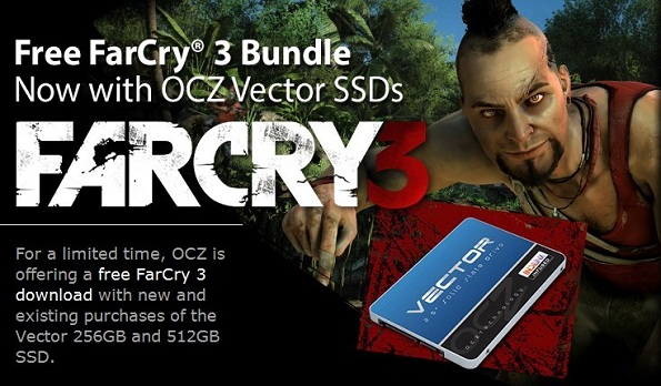 OCZ regala Far Cry 3 con l'SSD Vector