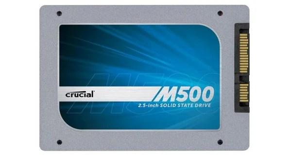 Ora disponibile la serie M500 degli SSD targati Crucial