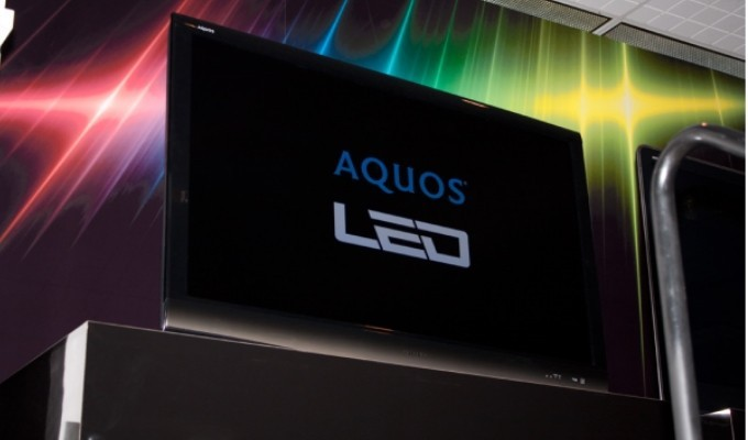 Sharp annuncia la TV LCD Aquos 4K