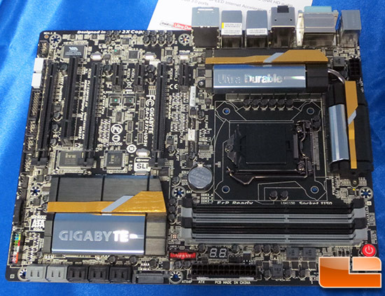 GIGABYTE annuncia anche le motherboards Z87X UD4H e Z87X UD5H