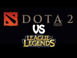 League of Legends vs DOTA2