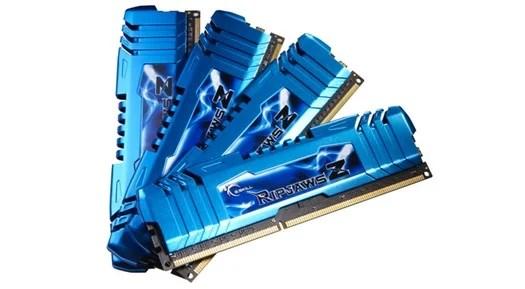 G.Skill RipjawsZ: Memorie DDR3 per Socket LGA 2011
