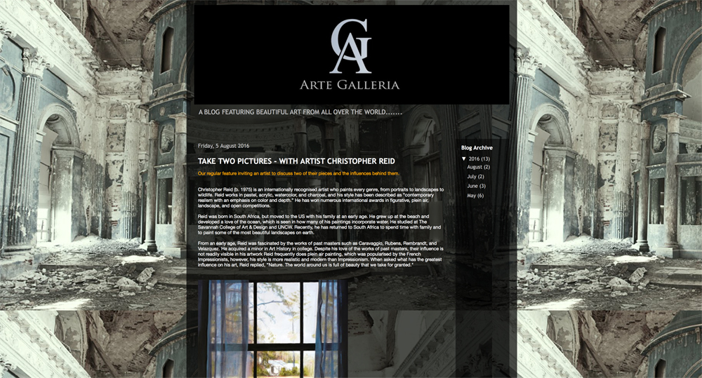 "Arte Galleria – ""Take Two Pictures – With Artist Christopher Reid"""