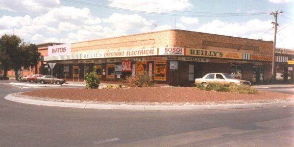 Our original store on the corner of Hargreaves and mundy street, 1981 - 1996
