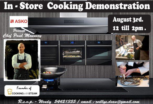 asko cooking demo 2
