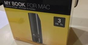 WD My Book for Mac 3TB USB 3.0 Box