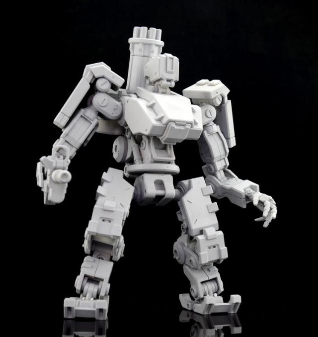 The toy mech will also come with rubber tracks for its wheels during