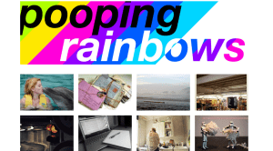 Pooping Rainbows Main Page