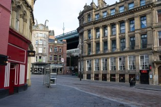 Enge Gassen in Newcastle