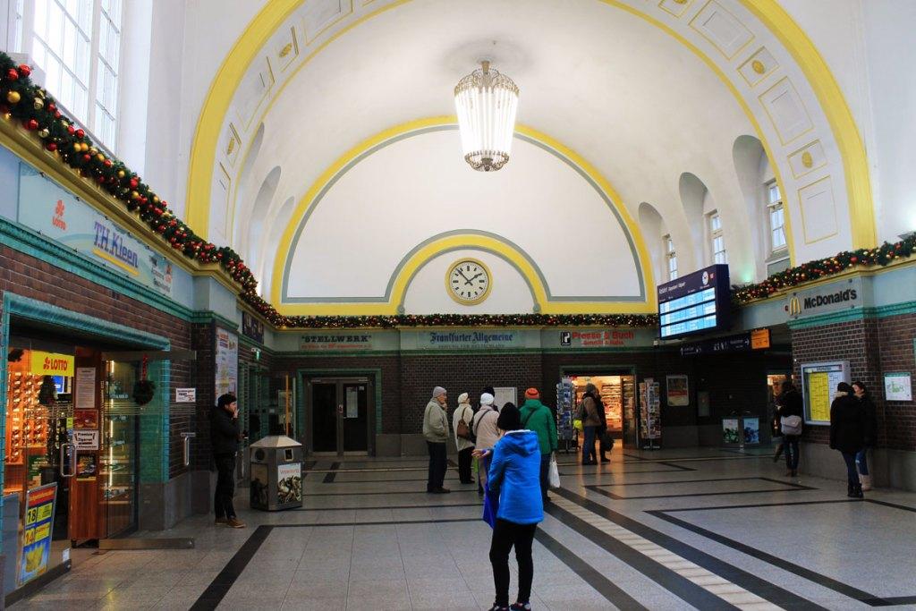 Weimar-stationhal