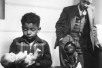 Photo from The Clark Doll Experiment (1939) was an experiment done by Dr Kenneth Clark and his wife Dr. Mamie Clark where they asked black children to choose between a black doll and a white doll. The dolls were the same except for their skin color but most thought the white doll was nicer. The test has been repeated in recent years with the same results.