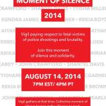 Today: National Moment of Silence 2014 #NMOS14