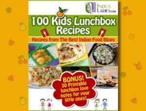 Kid's Lunch Box recipes – Indus Ladies E-Book