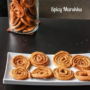 Spicy Curry Leaves Murukku