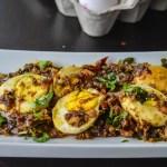 Egg Pepper Roast / Muttai Milagu Varuval