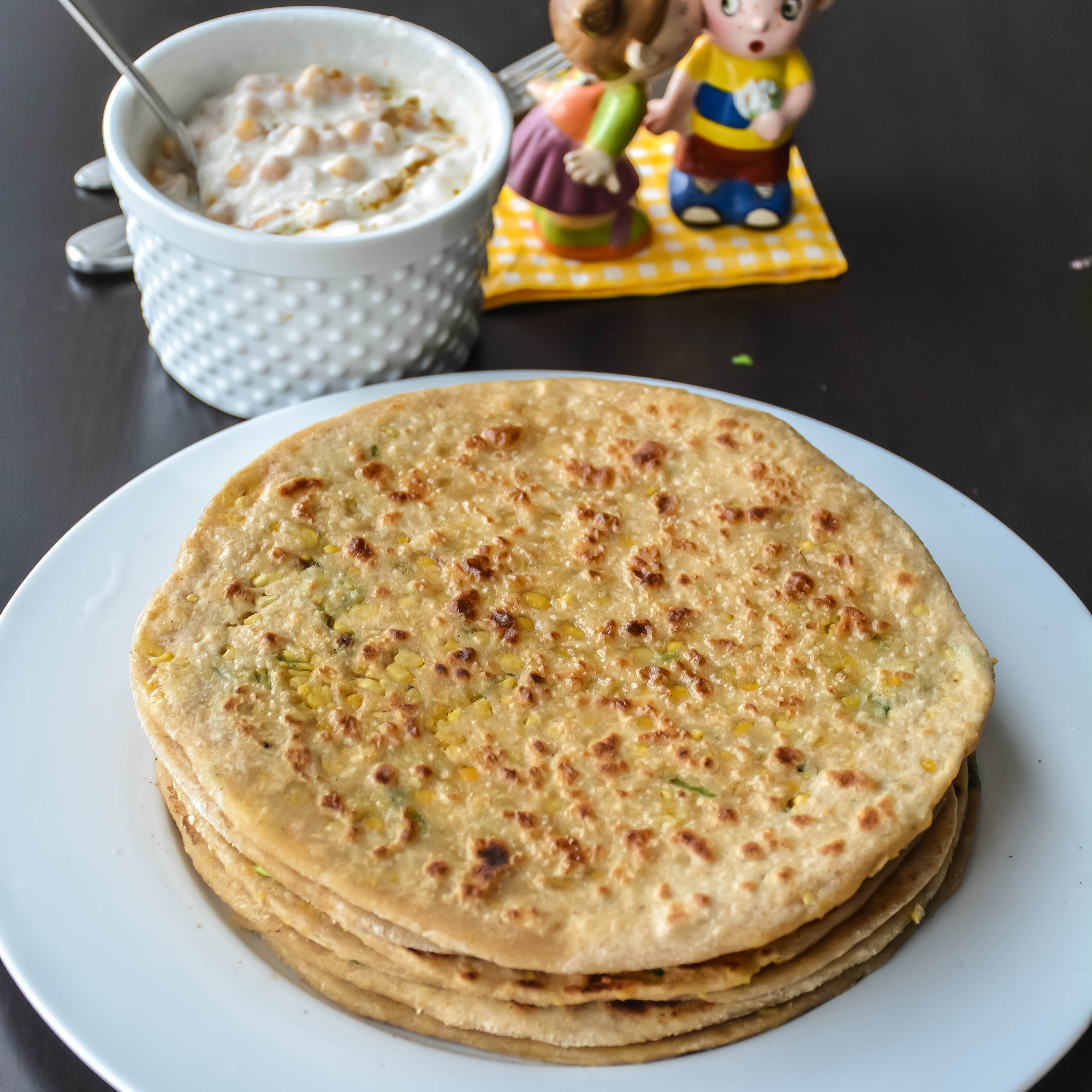 Spiced Lentil Stuffed Flat Bread (Ajwain Dal Paratha) Recipes ...
