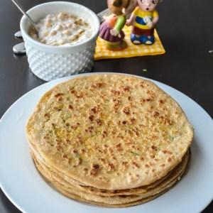 Chana Dal Paratha/ Stuffed Lentil Paratha