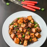 Spicy Garlic Tofu in 10 minutes