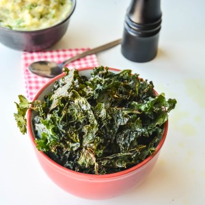 Indian Spiced Kale chips