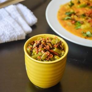Beans Coconut Stir Fry/ Beans Poriyal