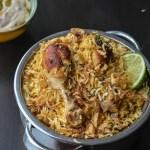 Chicken Dum Biryani Restaurant Style