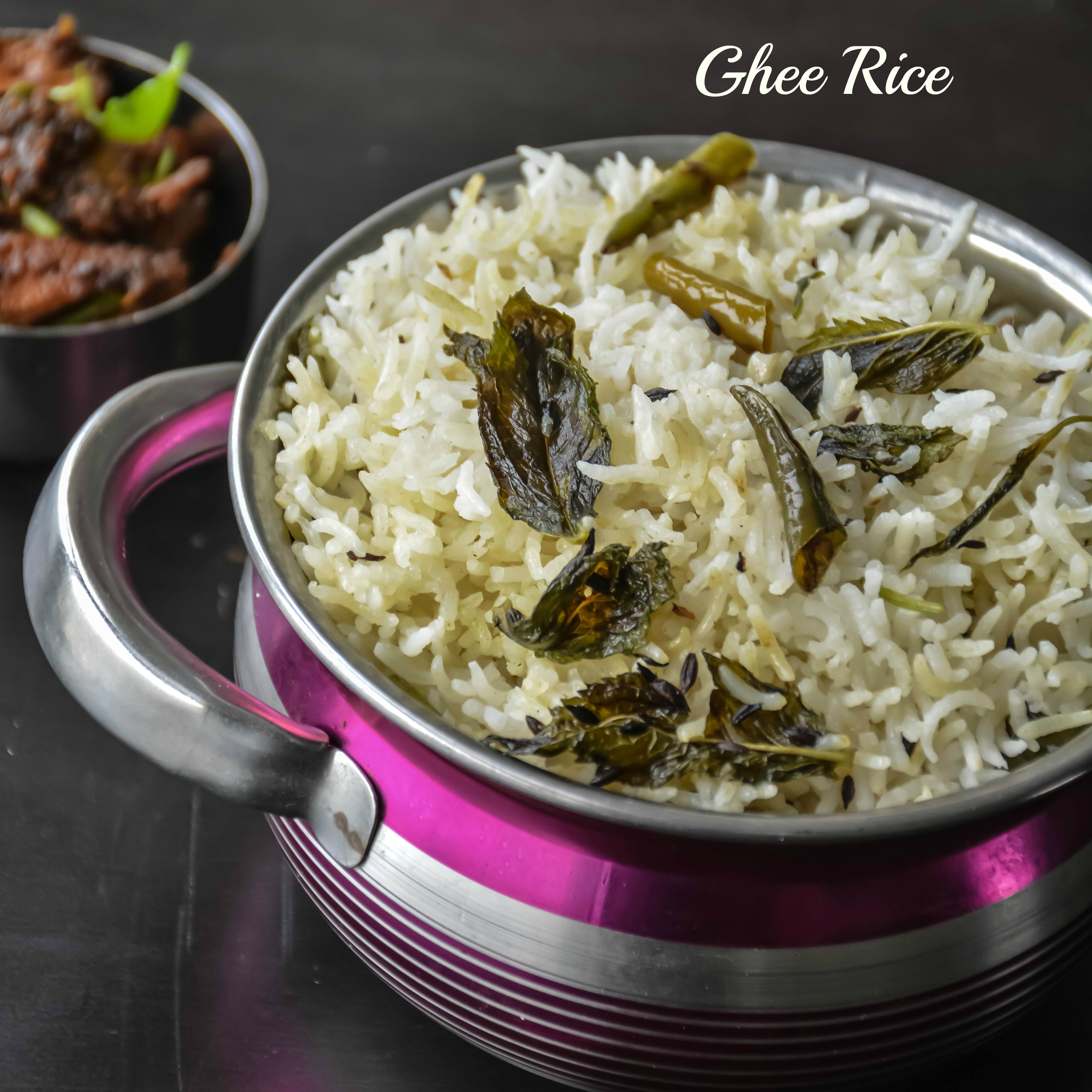 ghee rice    nei soru  u2013 relish the bite