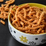 Almond Butter Murukku – Indian snacks